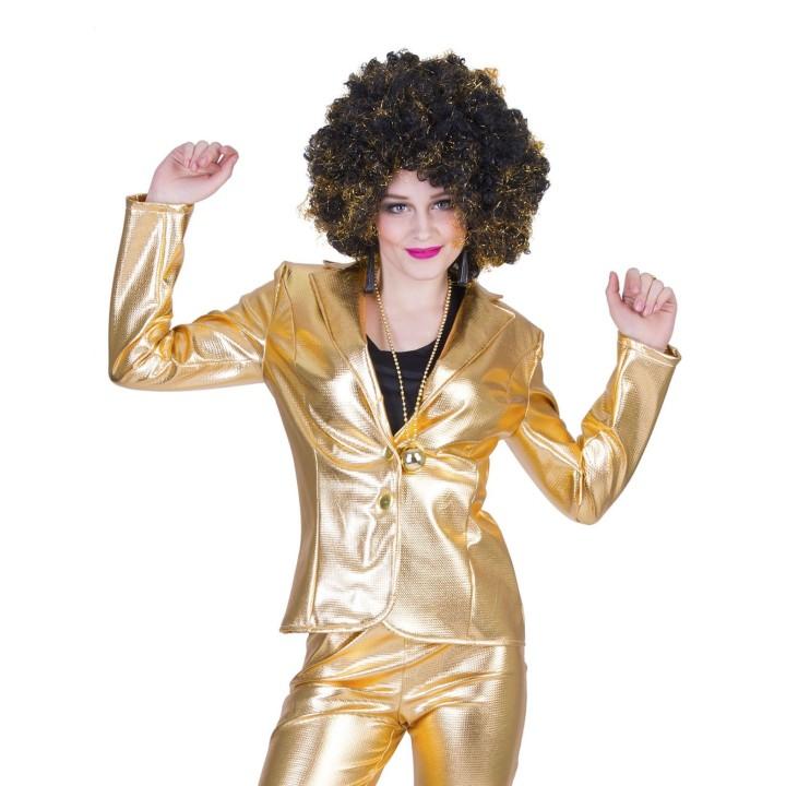 Disco Fever jasje dames goud bling bling