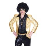 Disco Fever jasje heren goud bling bling