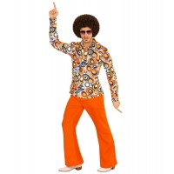 disco hemd mannen jaren 70 verkleedkleding