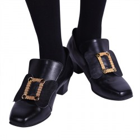 Schoengespen zwart