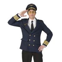 Piloten kostuum vest heren