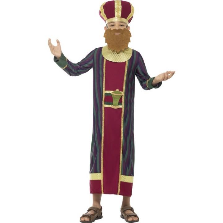 Drie Koningen kostuum kind Balthazar