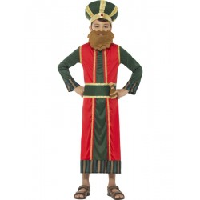 Drie Koningen kostuum kind Caspar