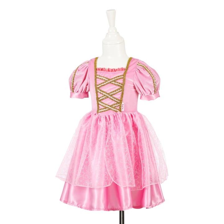 Prinsessenjurk meisjes Arina licht roze