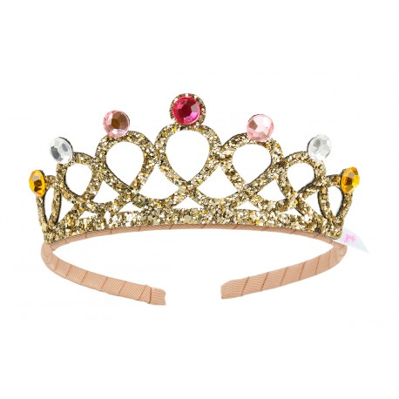 gouden Prinsessen kroontje kind tiara diadeem