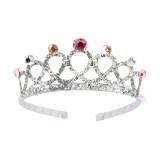 zilveren Prinsessen kroontje kind tiara diadeem