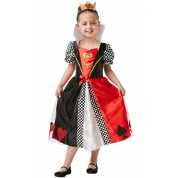 Hartenkoningin Alice in Wonderland kostuum kind