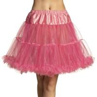 Roze petticoat 3-laags