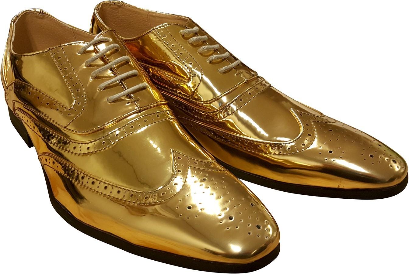 0d8fec1b7f2 Gouden schoenen voor heren   Jokershop.be - Verkleedwinkel