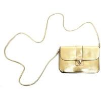 schoudertasje gouden clutch carnaval handtasje