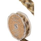 Decoratie lint pluche luipaard op rol