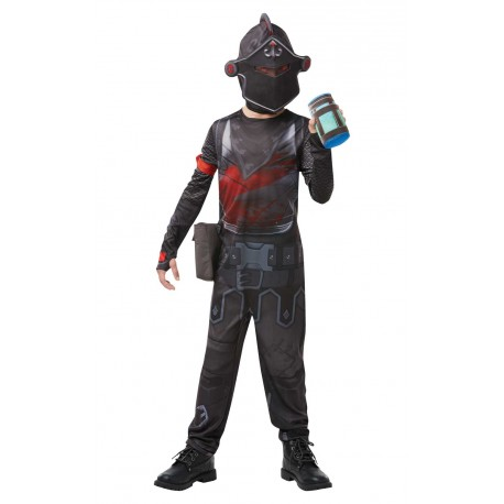 Fortnite kostuum kind black knight verkleedpak