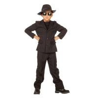 Maffia kostuum kind gangster pak zwart