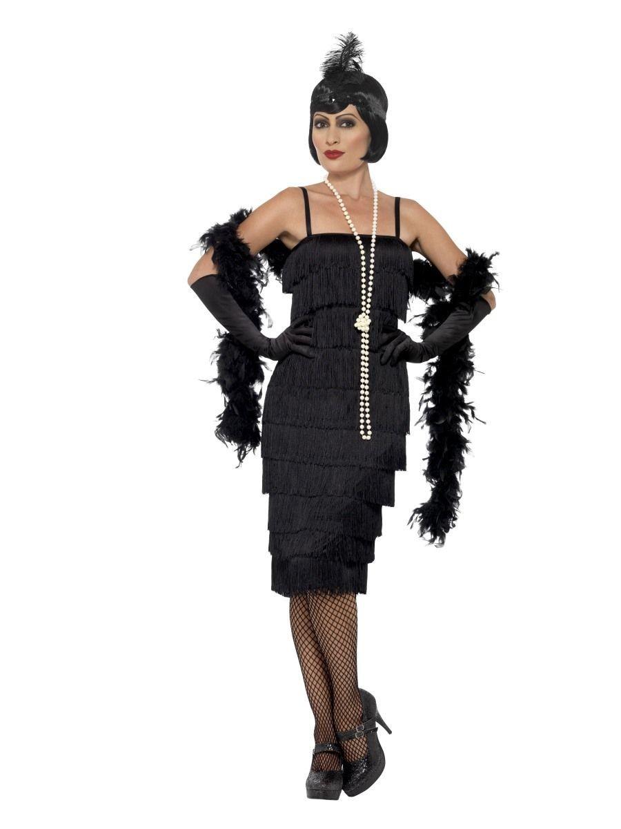 a585ca126d821d Charleston jurk zwart