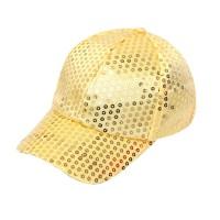 Glitter pet goud met pailletten