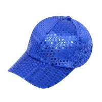 Glitter pet blauw met pailletten