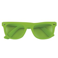 Feestbril neon groen