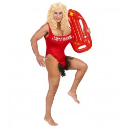 Fout Baywatch kostuum Brazillian Life + Guard