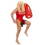 vrijgezellenfeest kostuum man baywatch lifeguard