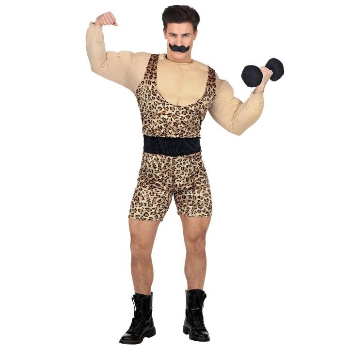 """Gewichtheffer kostuum """"Strong man"""""""