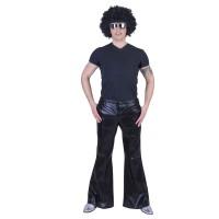Disco broek heren zwart Fever