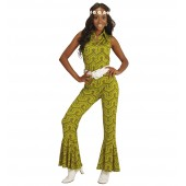 Disco jumpsuit wallpaper Dames disco outfit