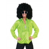 disco hemd groen heren shirt