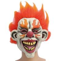 Halloween Masker Clown Vlammen