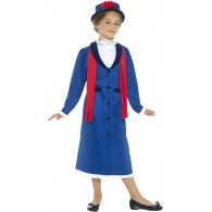 Mary Poppins kostuum kind Victoriaanse nanny