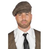 Peaky Blinders pet bruin jaren 20 cap