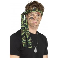 Camouflage Hoofdband Bandana