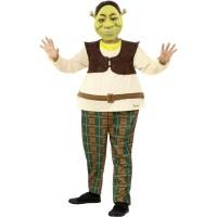 Shrek® kostuum kind + masker