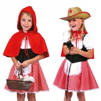 Roodkapje kostuum kind of Cowgirl pakje kind