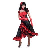 Saloon girl kostuum Burlesque cowgirl jurk