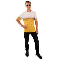 Bier T-shirt met foto-realistische 3D print
