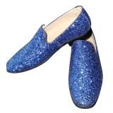Disco Glitter Blauw Heren Schoenen Blauwe gqnRfzq