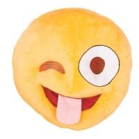 Emoticon masker emoji knipoog smiley carnaval