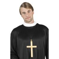 ketting kruis carnaval priester monnik non