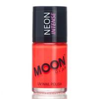 Moon fluo neon UV nagellak rood 14 ml