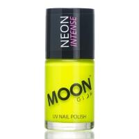 Moon fluo neon UV nagellak geel 14 ml