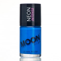 Moon fluo neon UV nagellak blauw 14 ml