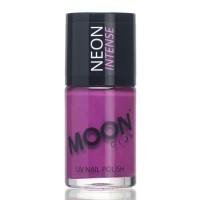 Moon fluo neon UV nagellak paars 14 ml