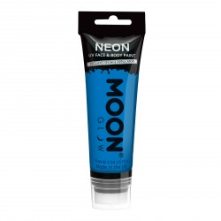 fluo neon makeup blauw blacklight schmink