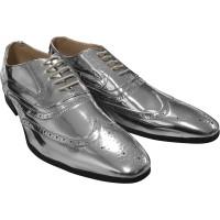 Zilveren schoenen voor heren