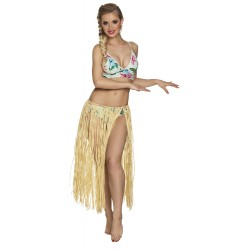 Hawaii rokje raffia stro naturel 80cm
