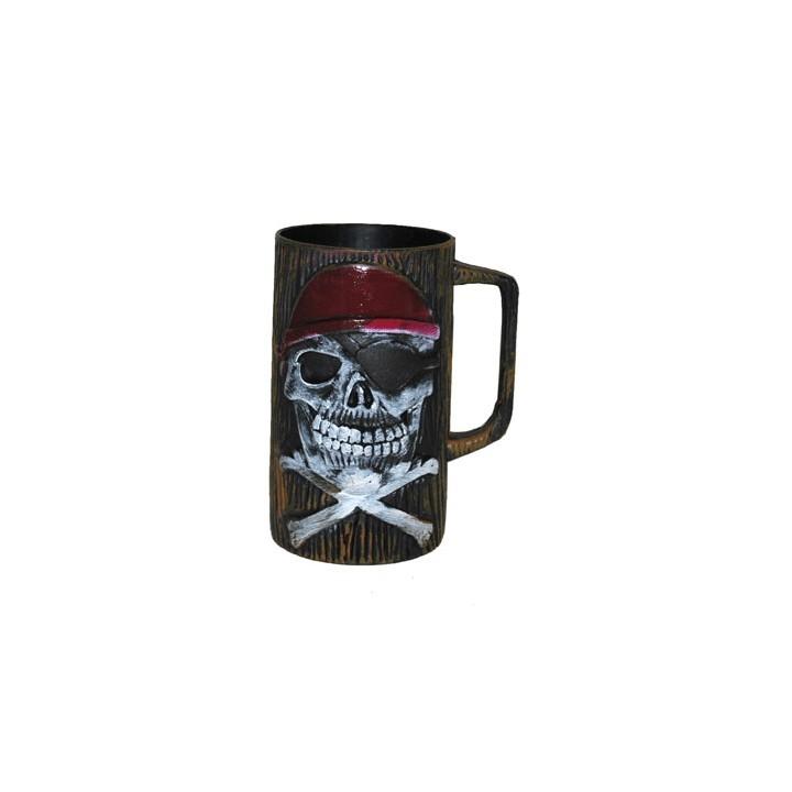 Piraten beker 15 cm