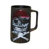 Piraten beker piraat accessoires drinkbeker
