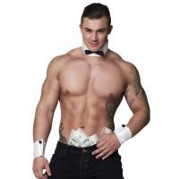 Stripper kraag en manchetten heren