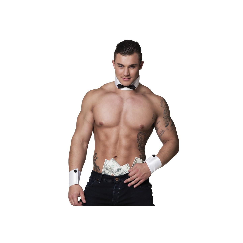 Stripper striptease set accessoires mannen