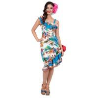 Hawaii jurk bloemenprint